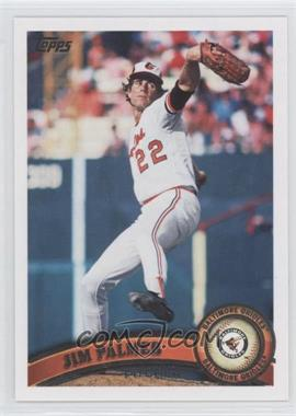2011 Topps #393.2 - Jim Palmer (Legends)