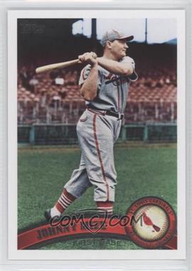 2011 Topps #425.2 - Johnny Mize (Legends)
