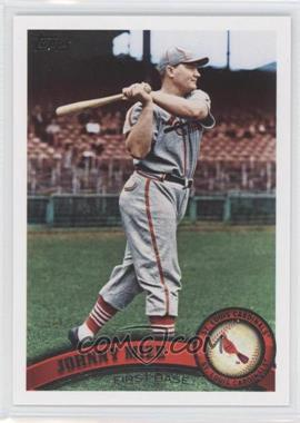 2011 Topps #425.2 - Johnny Mize (Legends)