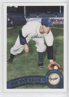 2011 Topps #435.2 - Pee Wee Reese (Legends)