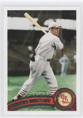 2011 Topps #44.2 - Rogers Hornsby