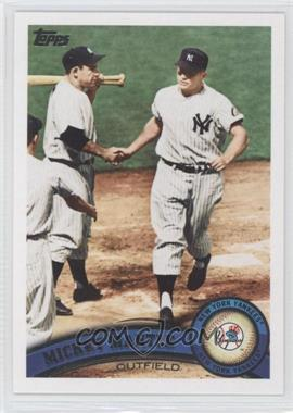 2011 Topps #450 - Mickey Mantle