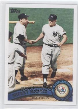 2011 Topps #450.2 - Mickey Mantle (Legends)