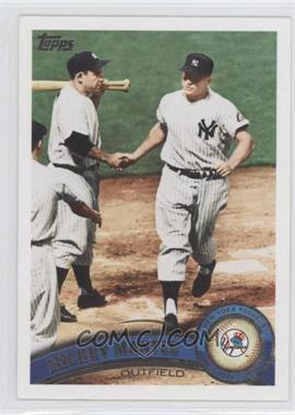 2011 Topps #450.2 - Mickey Mantle