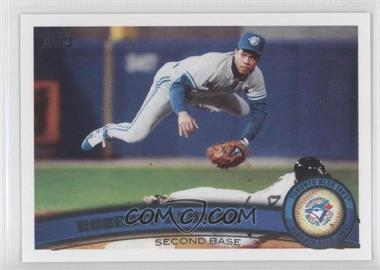 2011 Topps #480.2 - Roberto Alomar (Legends)