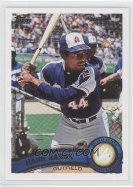 2011 Topps #510.2 - Hank Aaron (Legends)