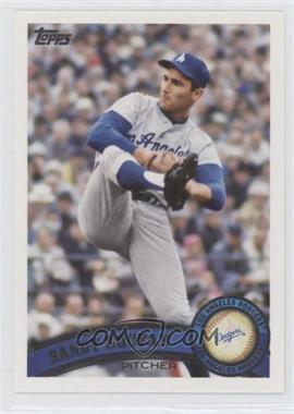 2011 Topps #530.2 - Sandy Koufax (Legends)