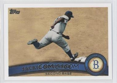 2011 Topps #80.2 - Jackie Robinson