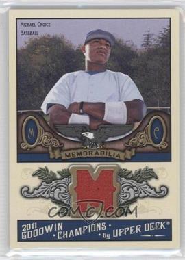 2011 Upper Deck Goodwin Champions Authentic Memorabilia #M-MC - Michael Choice