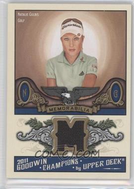 2011 Upper Deck Goodwin Champions Authentic Memorabilia #M-NG - [Missing]