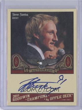 2011 Upper Deck Goodwin Champions Autographs #A-SS - Steven Stamkos