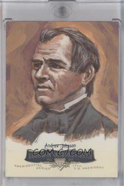 2011 Upper Deck Goodwin Champions Goodwin Masterpieces Presidential Series Autographed by Artist #GMPS-17 - Andrew Johnson /10