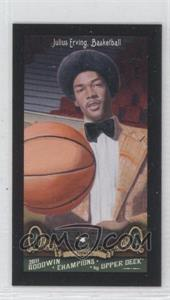 2011 Upper Deck Goodwin Champions Mini Red Lady Luck Back #138 - Julius Erving