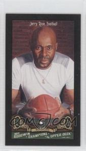 2011 Upper Deck Goodwin Champions Mini Red Lady Luck Back #83 - Jerry Rice