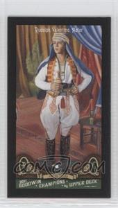 2011 Upper Deck Goodwin Champions Minis Red Lady Luck Back #123 - [Missing]