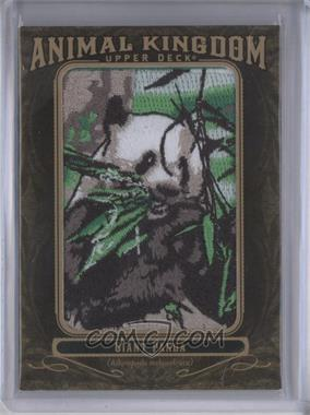 2011 Upper Deck Goodwin Champions Multi-Year Issue Animal Kingdom Manufactured Patches #AK-78 - Giant Panda