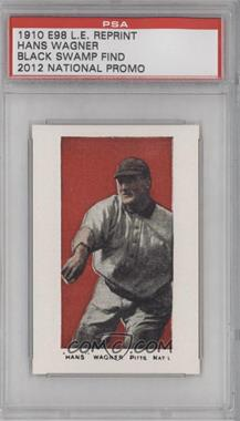 2012 1910 E98 Black Swamp Find Reprints National Convention [Base] #N/A - Honus Wagner /1500 [PSA AUTHENTIC]
