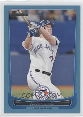 2012 Bowman - [Base] - Blue Border #53 - Adam Lind /500
