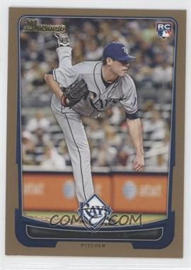 2012 Bowman - [Base] - Gold Border #211 - Matt Moore