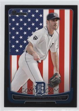 2012 Bowman - [Base] - International #77 - Justin Verlander