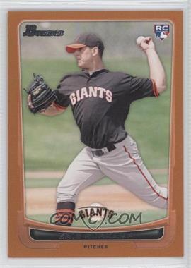 2012 Bowman - [Base] - Orange Border #200 - Eric Surkamp /250