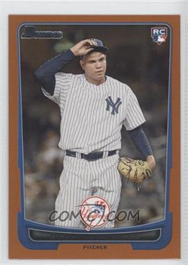 2012 Bowman - [Base] - Orange Border #217 - Dellin Betances /250
