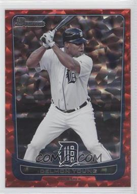 2012 Bowman - [Base] - Red Ice #189 - Delmon Young /25