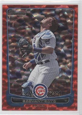 2012 Bowman - [Base] - Red Ice #55 - Geovany Soto /25