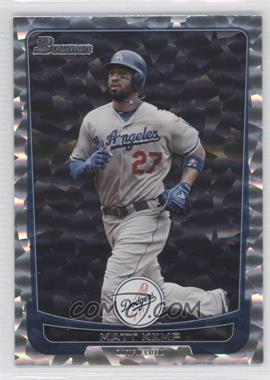 2012 Bowman - [Base] - Silver Ice #12 - Matt Kemp