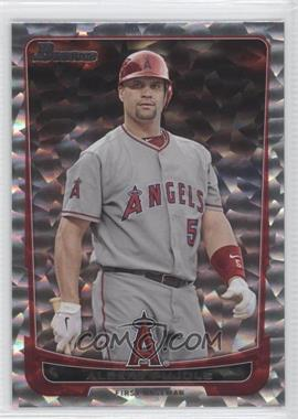 2012 Bowman - [Base] - Silver Ice #49 - Albert Pujols