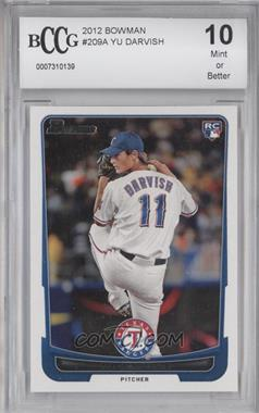 2012 Bowman - [Base] #209.1 - Yu Darvish (Base) [ENCASED]