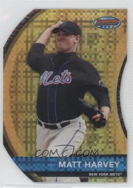 2012 Bowman - Bowman's Best Prospects - Die-Cut X-Fractor #BBP10 - Matt Harvey /25