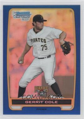 2012 Bowman - Chrome Prospects - Blue Refractor #BCP86 - Gerrit Cole /250