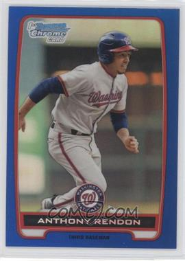2012 Bowman - Chrome Prospects - Blue Refractor #BCP88 - Anthony Rendon /250