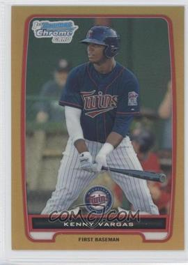 2012 Bowman - Chrome Prospects - Gold Refractor #BCP150 - Kenny Vargas /50