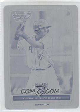 2012 Bowman - Chrome Prospects - Printing Plate Black #BCP182 - Gregory Polanco /1