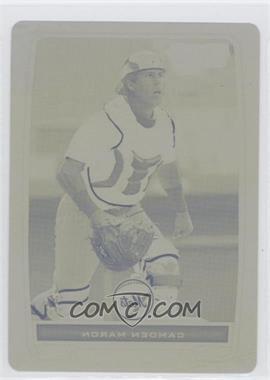 2012 Bowman - Chrome Prospects - Printing Plate Yellow #BCP151 - Camden Maron /1
