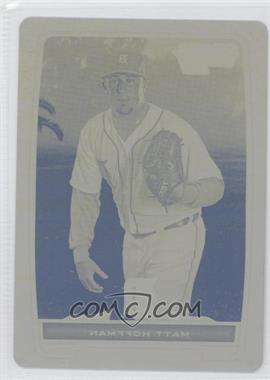 2012 Bowman - Chrome Prospects - Printing Plate Yellow #BCP204 - Matt Hoffman /1