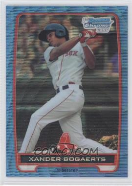 2012 Bowman - Chrome Prospects - Redemption Refractor Blue Wave #BCP105 - Xander Bogaerts