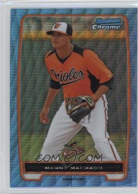 2012 Bowman - Chrome Prospects - Redemption Refractor Blue Wave #BCP217 - Manny Machado