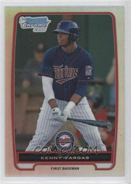 2012 Bowman - Chrome Prospects - Refractor #BCP150 - Kenny Vargas