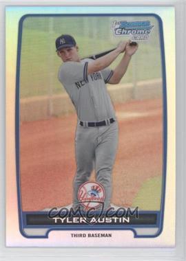 2012 Bowman - Chrome Prospects - Refractor #BCP17 - Tyler Austin /500