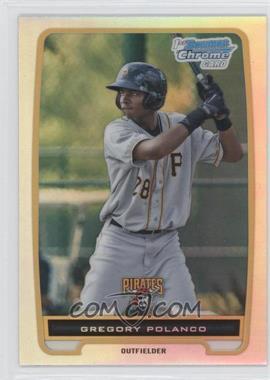 2012 Bowman - Chrome Prospects - Refractor #BCP182 - Gregory Polanco