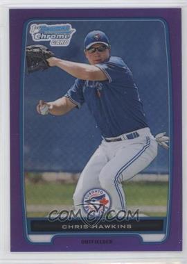 2012 Bowman - Chrome Prospects - Retail Purple Refractor #BCP138 - Chris Hawkins /199