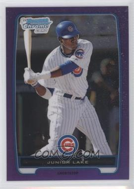2012 Bowman - Chrome Prospects - Retail Purple Refractor #BCP213 - Junior Lake /199