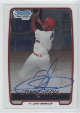 2012 Bowman - Chrome Prospects Certified Autographs - [Autographed] #BCP102 - Oscar Taveras