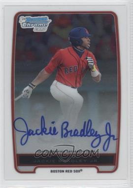 2012 Bowman - Chrome Prospects Certified Autographs - [Autographed] #BCP66 - Jackie Bradley Jr.