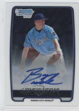 2012 Bowman - Chrome Prospects Certified Autographs - [Autographed] #BCP84 - Bryan Brickhouse
