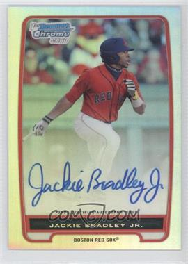 2012 Bowman - Chrome Prospects Certified Autographs - Refractor #BCP66 - Jackie Bradley Jr. /500