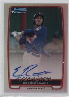2012 Bowman - Chrome Prospects Certified Autographs - Refractor #BCP9 - Eddie Rosario /500